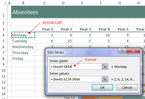 Excel Cursor arrow keys not working