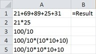 Excel EVALUATE function
