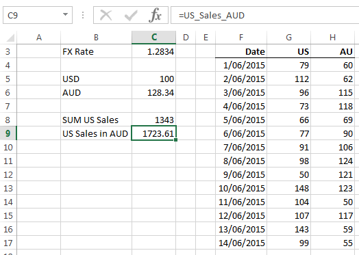 how to use fx formula in excel