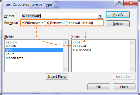 Excel PivotTable Calculated Items by Position • My Online Training Hub