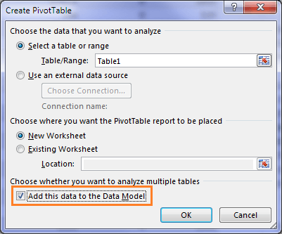 create named sets in Power Pivot
